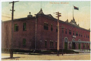 Montreal's Westmount Arena, site of the first NHL game.