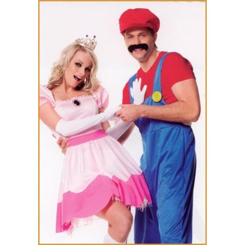 princess peach mario kart. princess peach and mario in